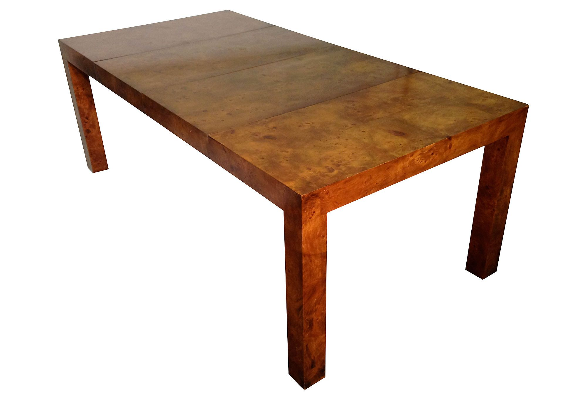 One Kings Lane Table Talk Milo Baughman Parsons Dining Table