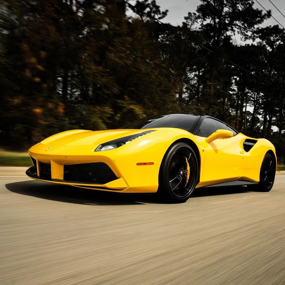 Back To Mistress Pics Ferrari Ferrari488 488gtb Ferrarilife V8 Turbo Yellow Supercar Dreamcar Carporn Drive N In 2020 Dream Cars Super Cars Ferrari 488