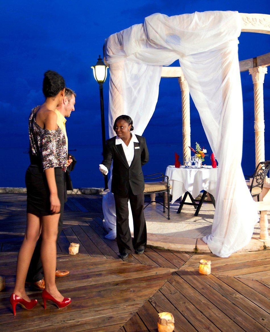 Enjoy Private Dining Service In A Romantic Gazebo