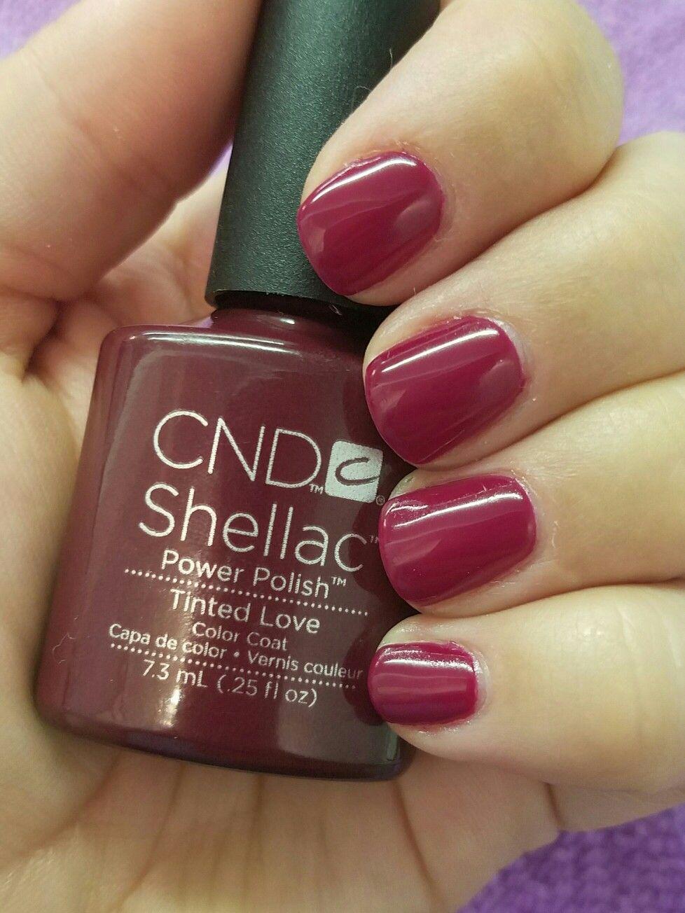 Cnd Creative Play Nail Lacquer Reviews In Nail Polish: CND Shellac Tinted Love