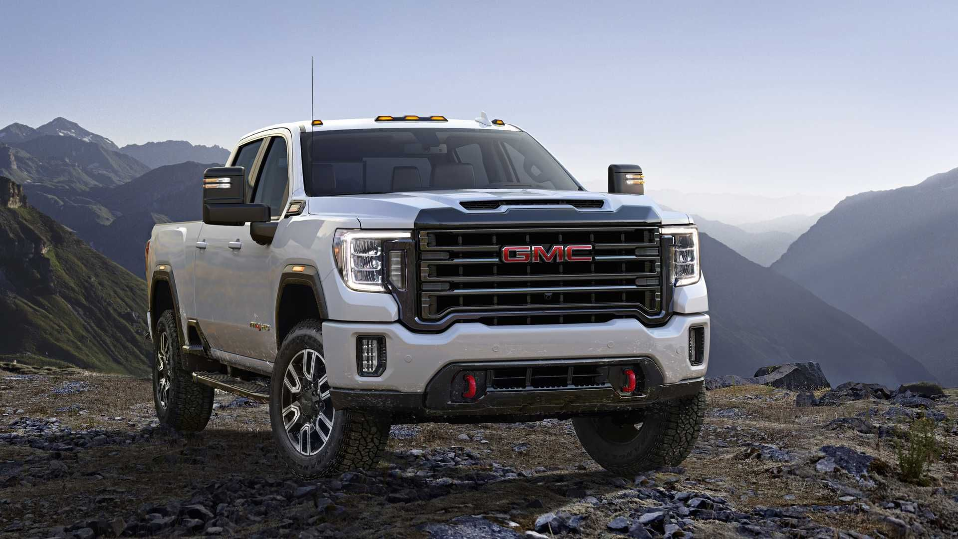 2020 Gmc Sierra Hd 2500 At4 Crew Cab Gmc 2500 Gmc Gmc Trucks