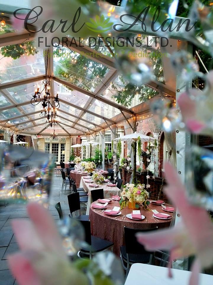 a magical bridal shower the morris house hotel in philadelphia bridalshower philadelphia crystalwedding crystaldecor carlalan