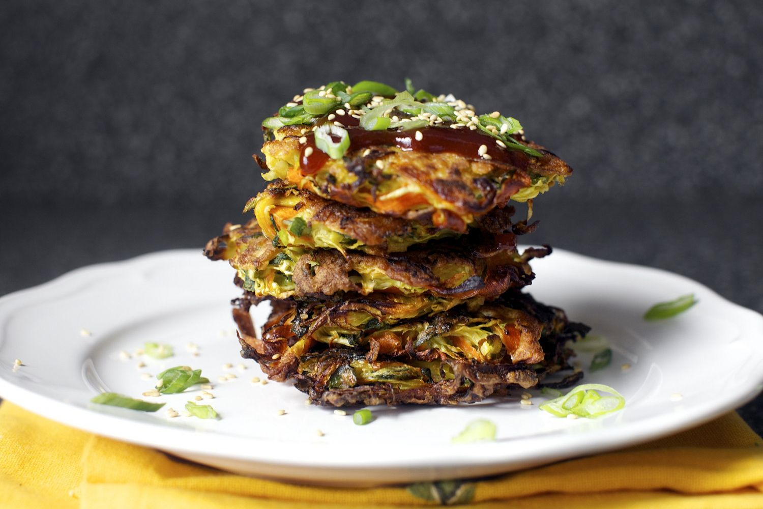 japanese vegetable pancakes – smitten kitchen | recipes | Pinterest ...