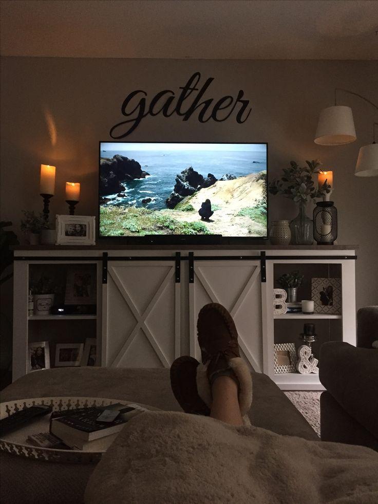 Dresser To Tv Stand Farmhouse
