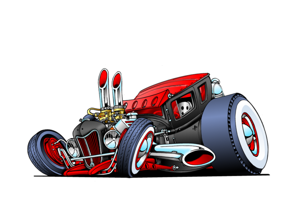 Hubgarage Com Gas Station And Rat Rods Photos Cool Car Drawings Car Drawings Art Cars
