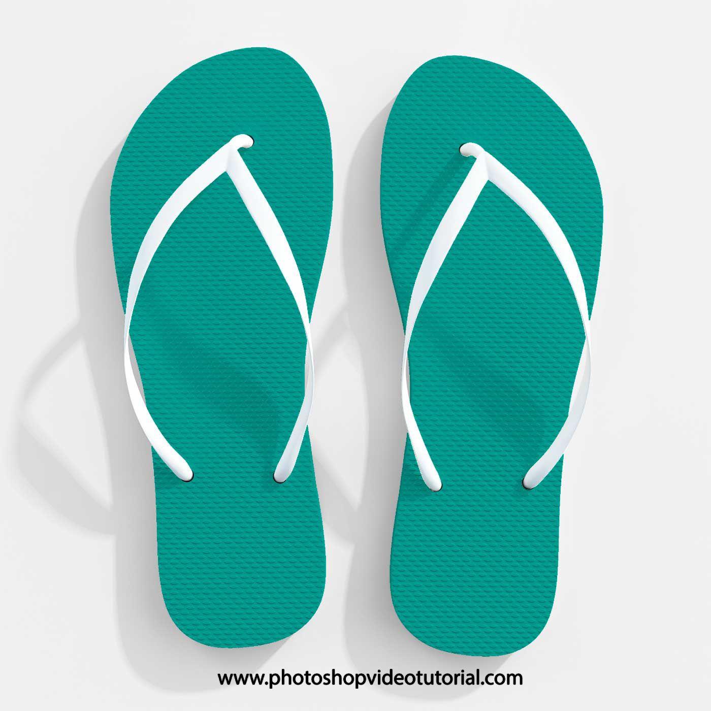 Flip Flop Slipper Psd Mockup For Designing Casual Footwear Easily Mockup Free Download Mockup Free Psd Free Logo Mockup