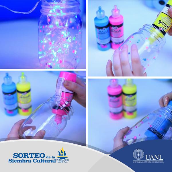 Lámparas creativas o simple decoración, lo que sí es seguro es que son fáciles de hacer.