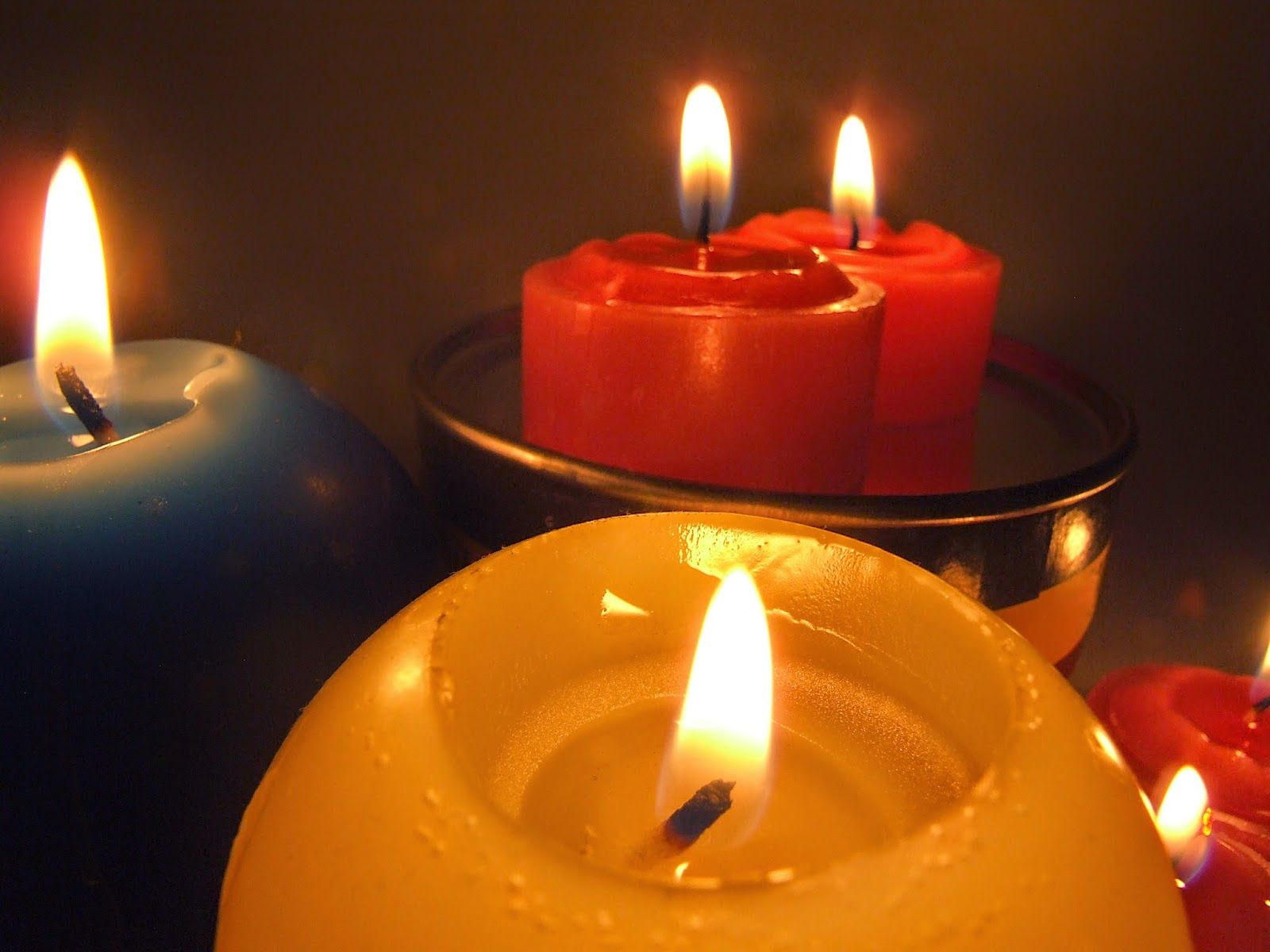 O is for Occult Paraffin candles, Candles, Burning candle