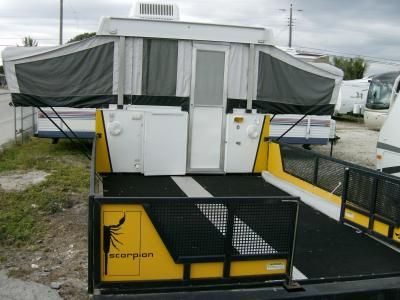 2005 Fleetwood Coleman SCORPION S1 Pop Up Toy Hauler u2013 RV Sales of Broward : tent toy hauler - memphite.com