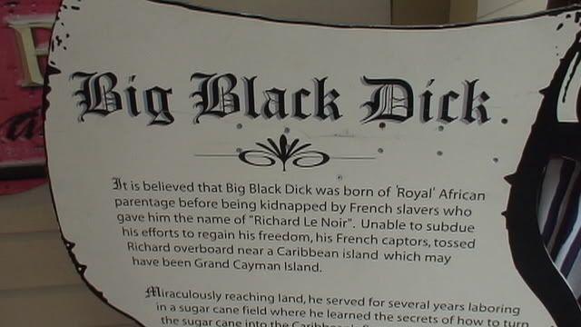 Big black dick grand cayman