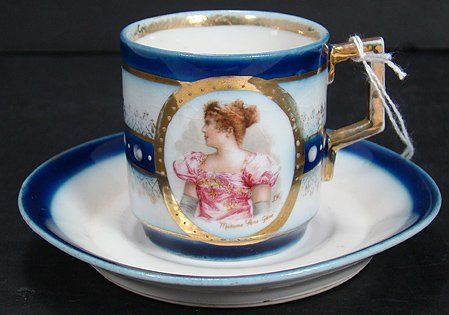 ROYAL VIENNA BEEHIVE CUP AND SAUCER