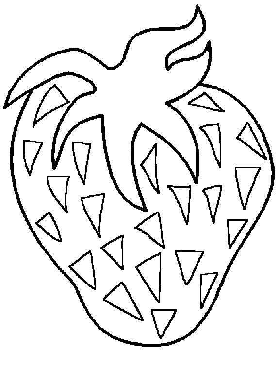 Back To Coloring Pages Fruit And Vegetables