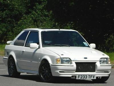 1988 ford escort rs turbo 3dr 1 6i manual white recaro trim loads of rh pinterest co uk Ford Capri Ford Falcon