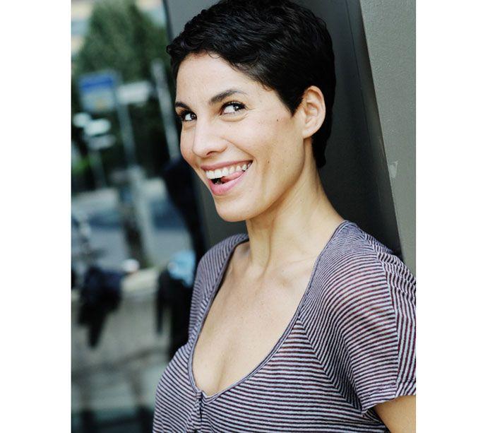 Jasmin Gerat Short Hair Hair Pinterest Schauspieler