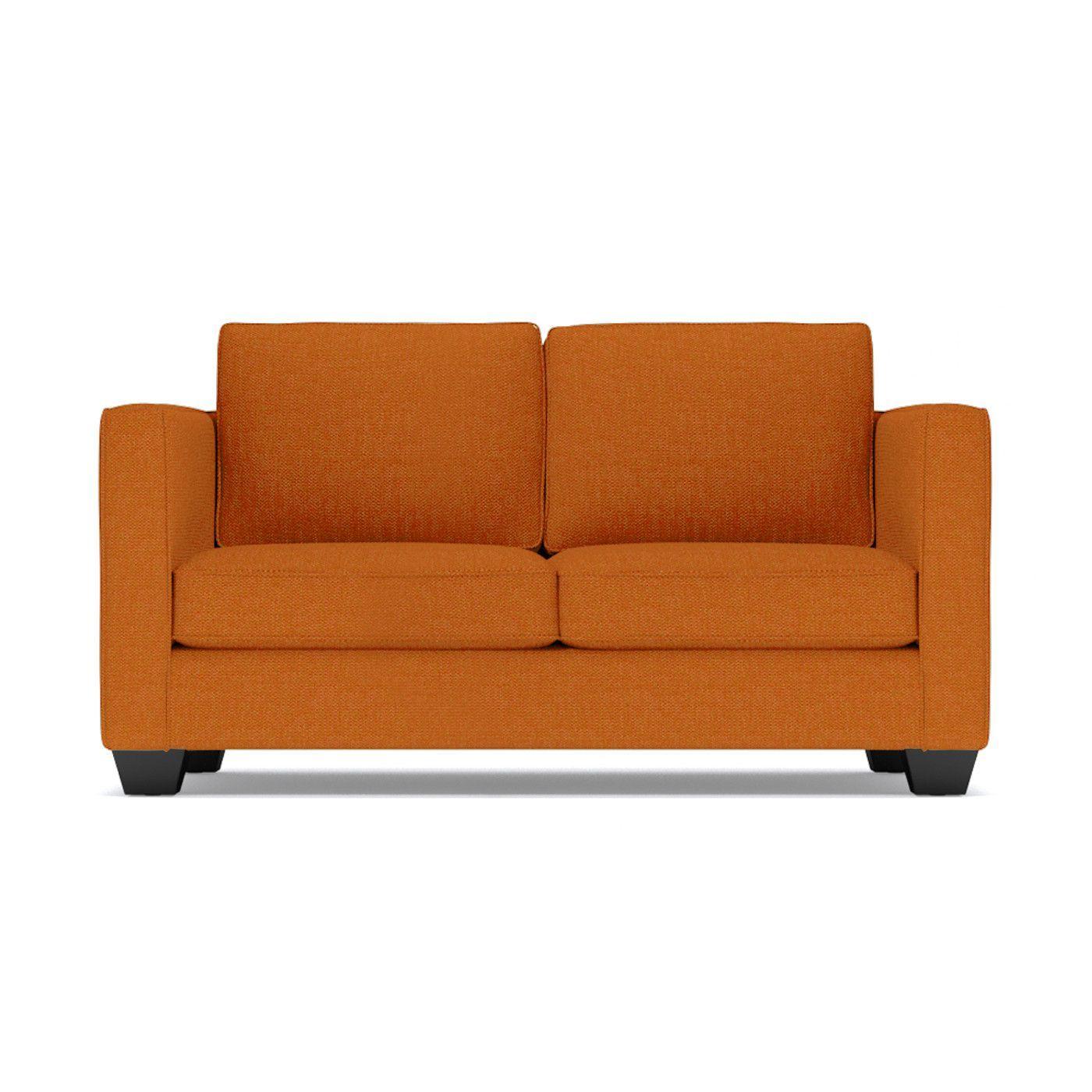 - Catalina Apartment Size Sleeper Sofa :: Leg Finish: Pecan