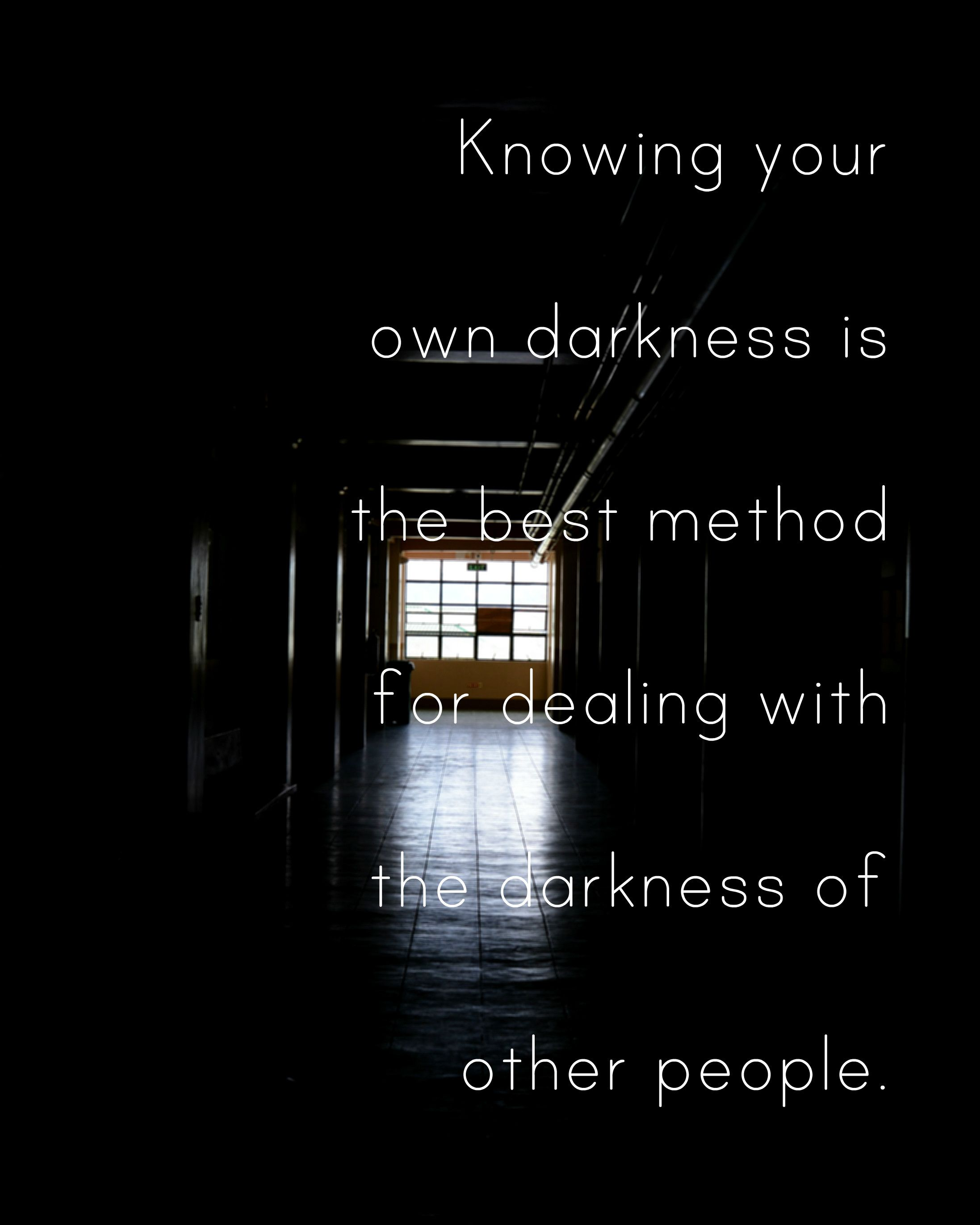 Quote: Internet #quotes #darkness #hallway #edit #photography #darkness#quotes #people