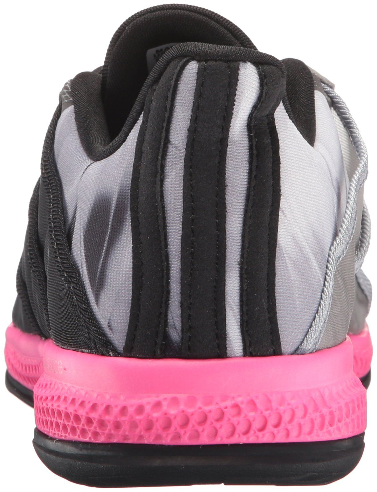 info for c98e6 23e6c adidas Performance Womens Gymbreaker Bounce CrossTrainer Shoe Black Shock  Pink Mid Grey S 6 M