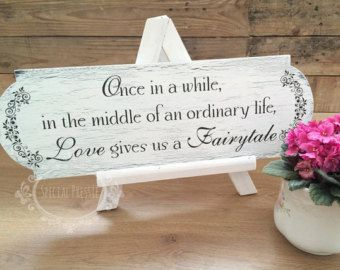 Once In A Middle Of An Ordinary Life Wedding Signs Made Ireland Special Pressie