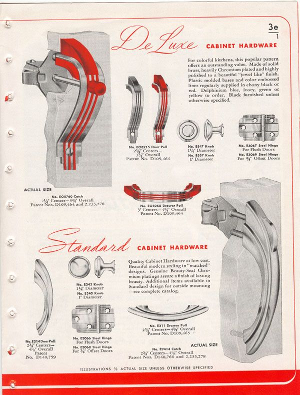 Stan The Old Hardware Man: Amerock Hardware Vintage Catalog