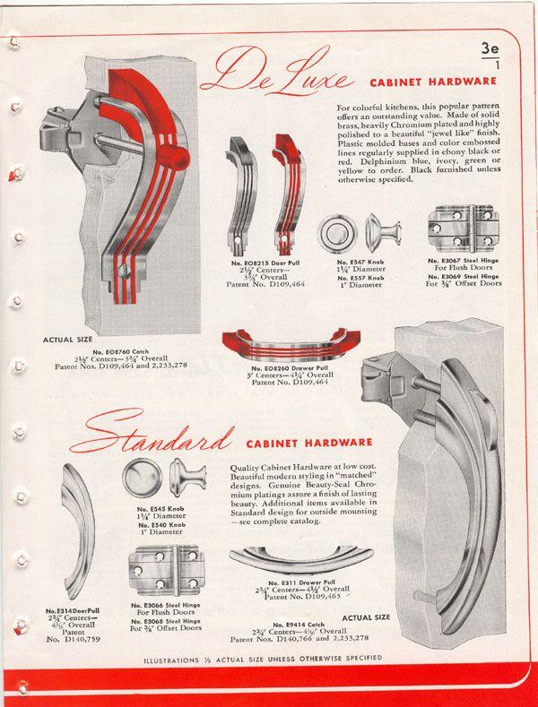 Stan the Old Hardware Man: Amerock Hardware Vintage Catalog ...