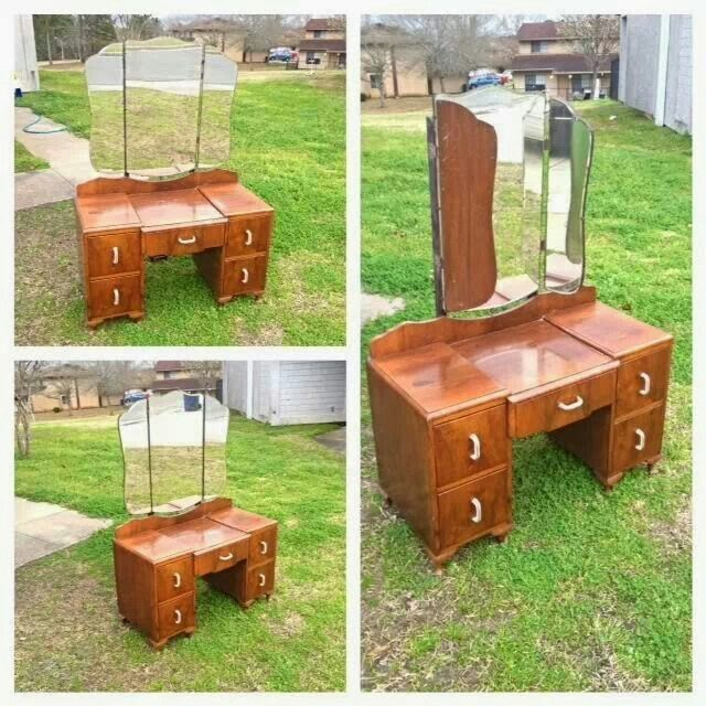 My vanity I purchase... Always wanted one of these......