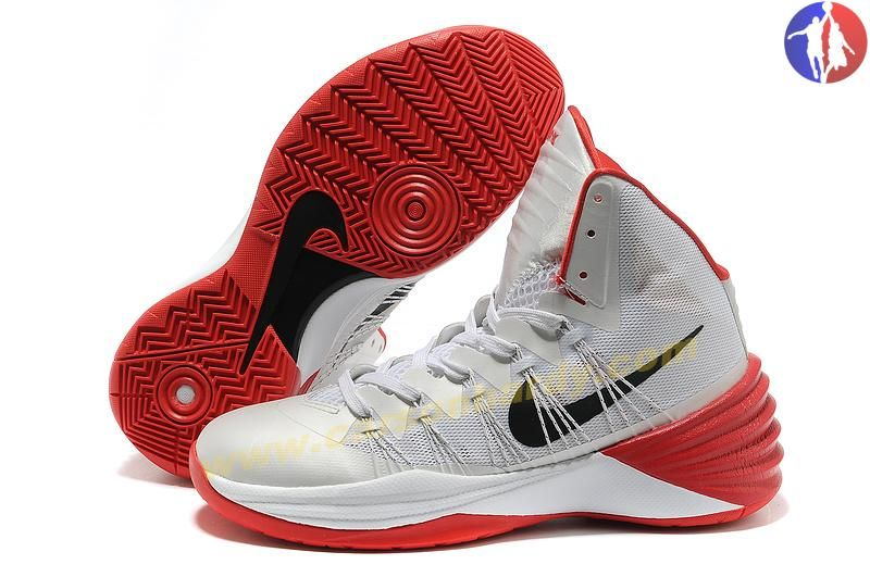 Authentic Nike Hyperdunk 2013 White Red