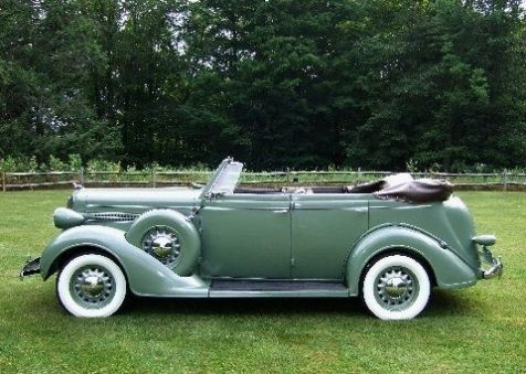 1936 dodge d2 4 door convertible vintage automobiles for 1936 dodge 4 door sedan