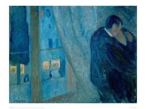 The Kiss, 1892 Giclee Print by Edvard Munch (avec images) | Les ...