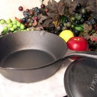 Seasoning Cast Iron Skillet Recipe...In addition to seasoning, the general care of cast iron is also important. Here are the steps you can follow to ensure your cast iron pieces will be around for a long time.