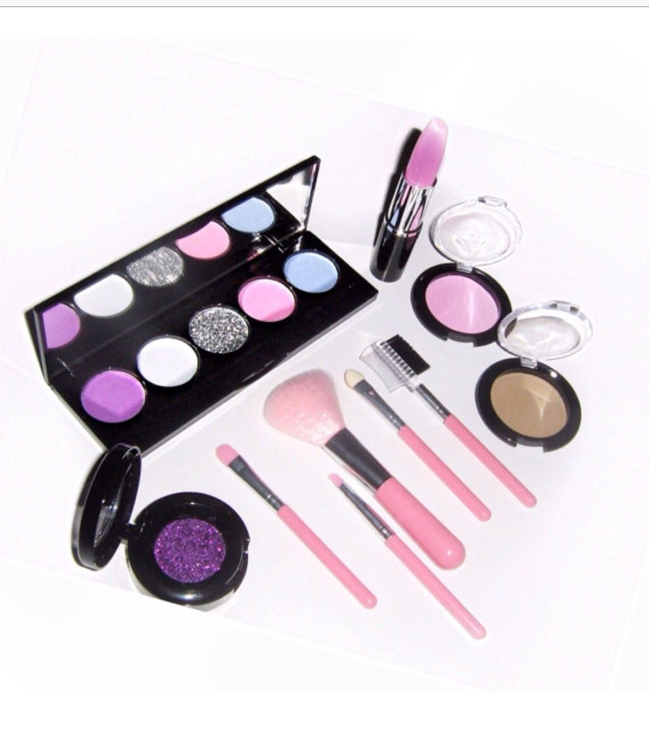 Note This is not real makeup Kit incl. 5palette pretend
