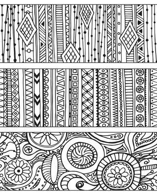 Pin Von Mila Auf Doodle Zentangle Muster Vektor Muster Zeichnen