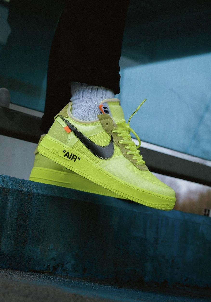0cf301e2c OFF WHITE x Nike Air Force 1