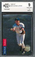 1993 SP #279 Derek Jeter Rookie Card Graded BCCG 9