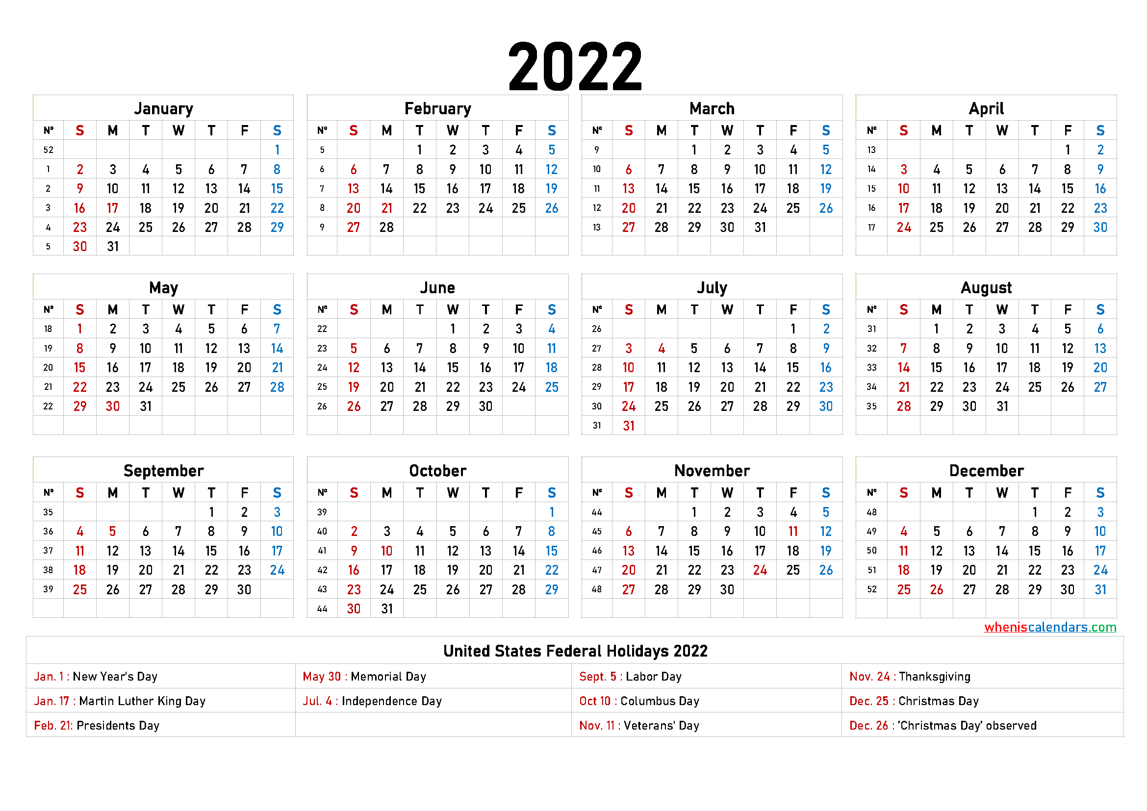 Free Printable 2022 Calendar 6 Templates In 2020 Yearly Calendar Template Calendar Template 2020 Calendar Template