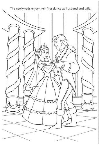 Pin By Sarah Michelle On Beauty And The Beast Coloring Pages Wedding Coloring Pages Disney Coloring Pages Princess Coloring Pages
