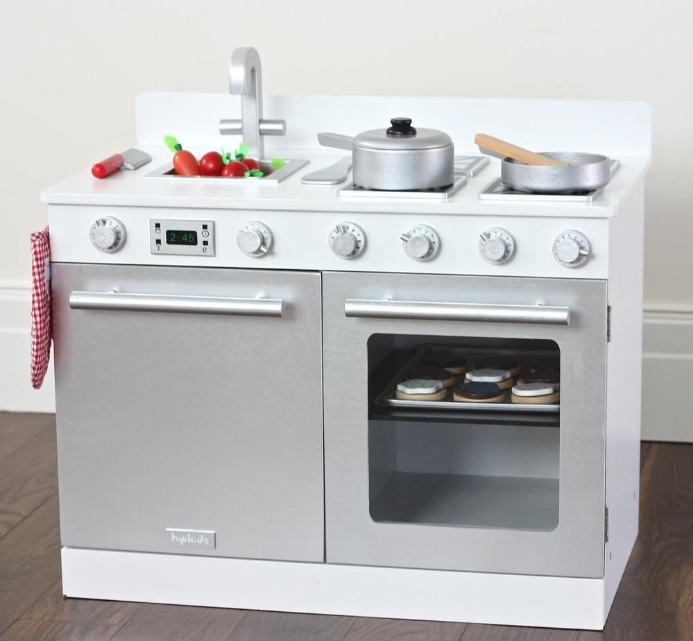 Kids Gourmet Toy Kitchens | childrens play kitchen | toddler wooden ...