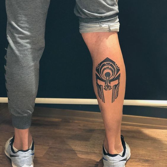 Check the most amazing leg tattoo ideas with amazing designs is part of Spartan tattoo -