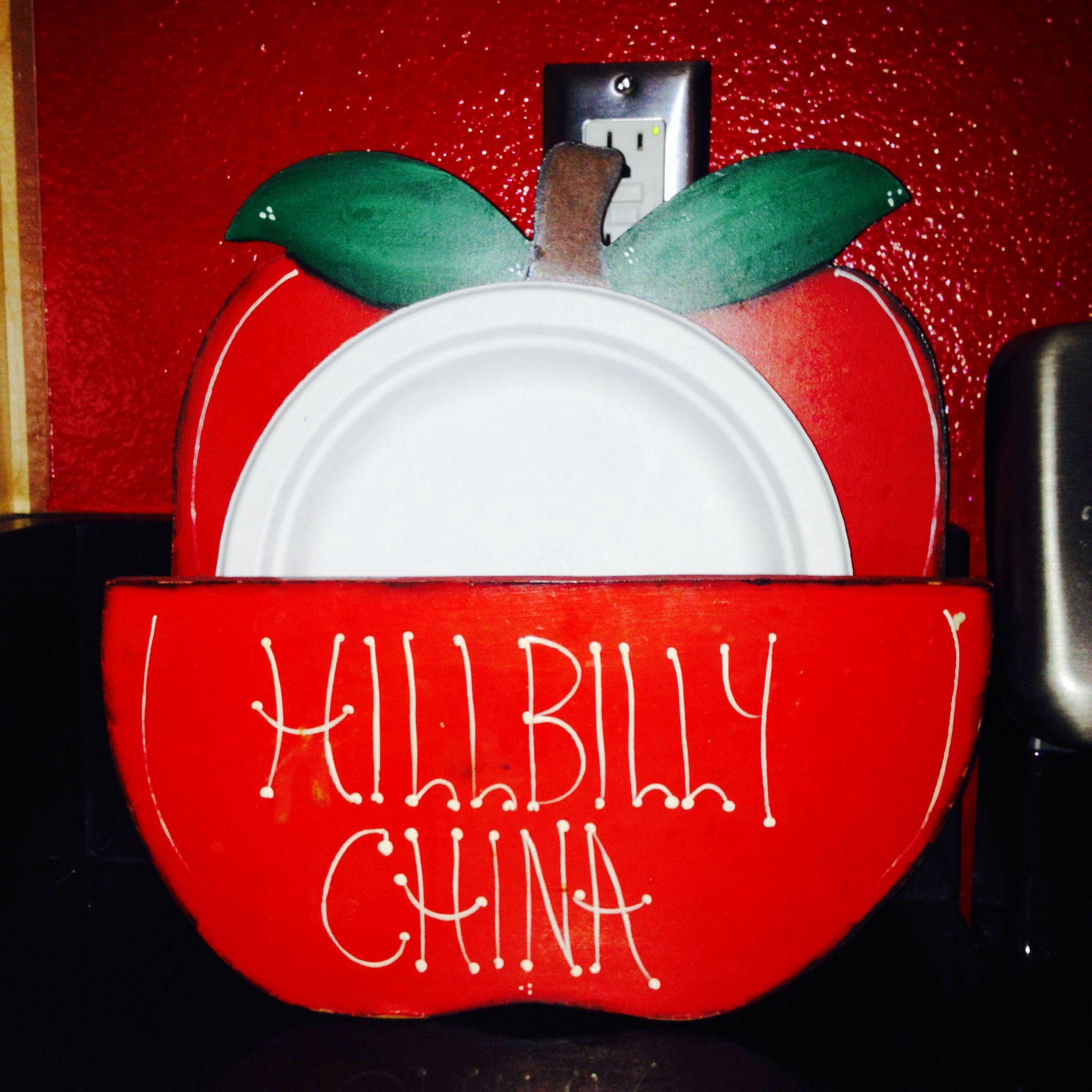 Clever paper plate holder  sc 1 st  Pinterest & Clever paper plate holder | Paper Plate Holder | Pinterest | Plate ...