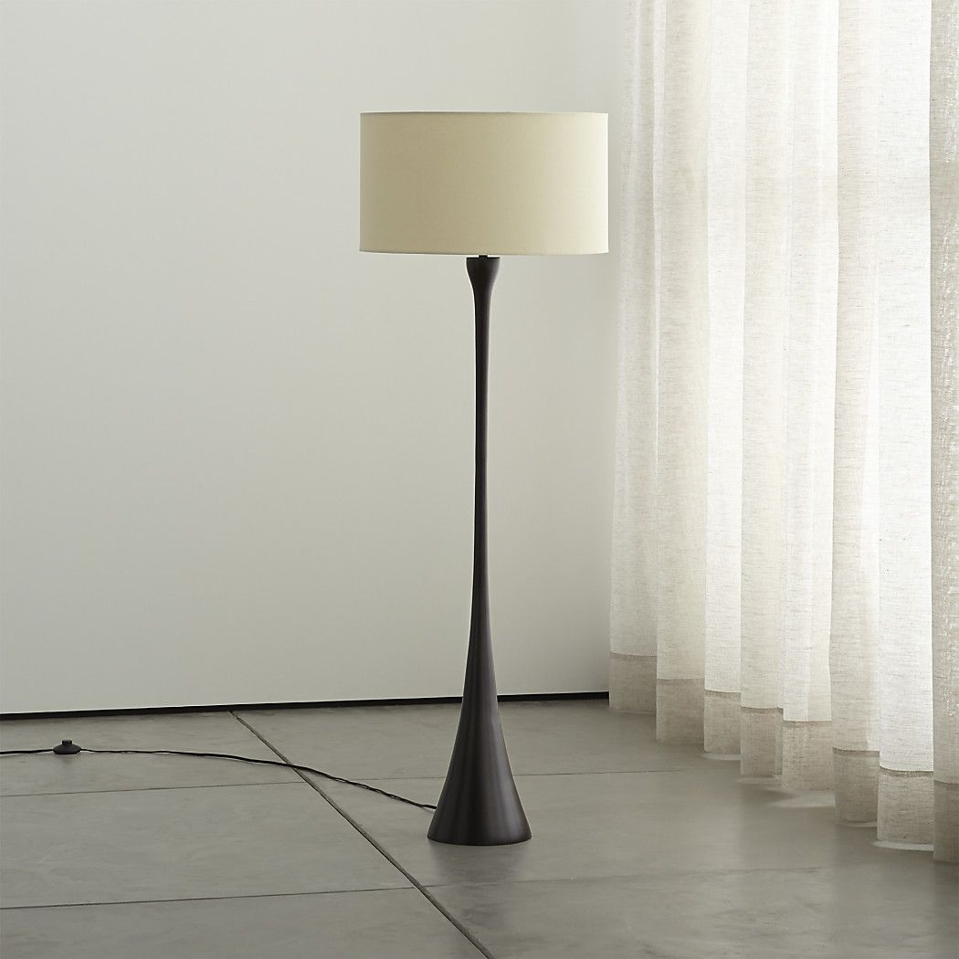 MelroseBronzeFloorLampOffSHF15 Floor lamp, Brass floor lamp