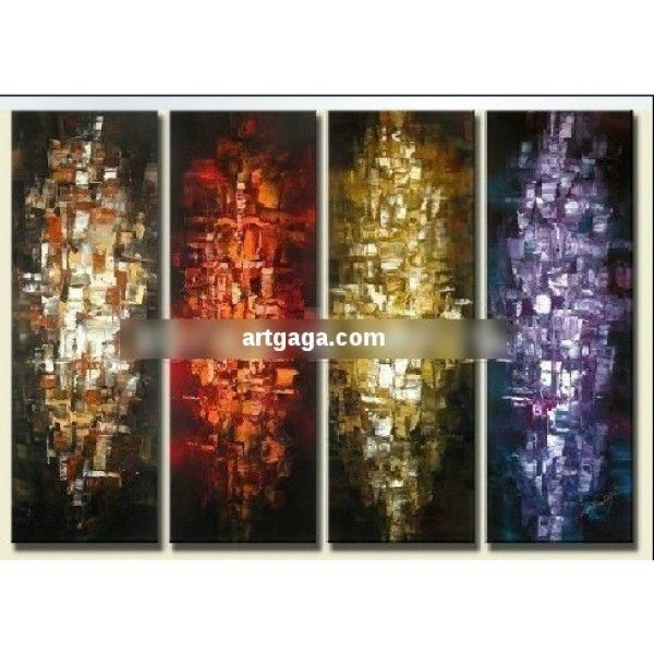 Pure decorative painting paintings abstract frameless painting