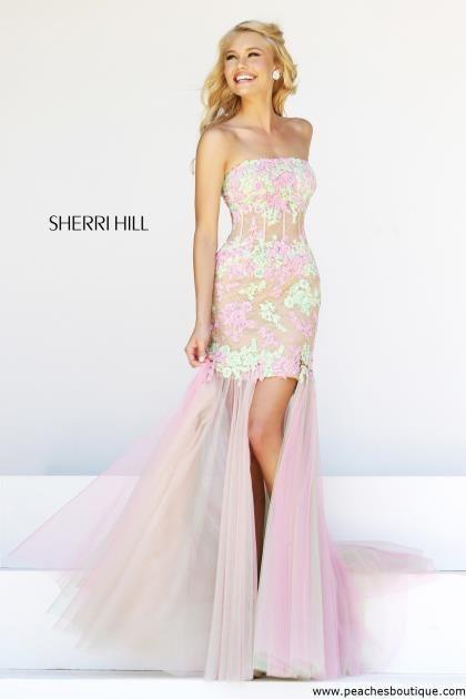 Sherri Hill Corset Bodice Prom Dress 11110   Prom Dresses ...