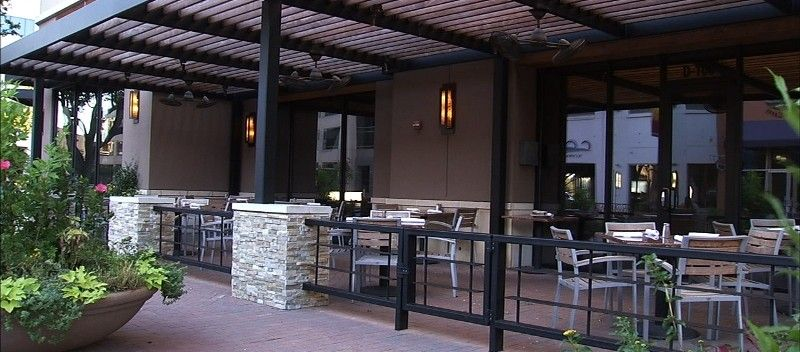 Patio   Fans And Heaters In The Middle · Restaurant PicturesOutdoor ...