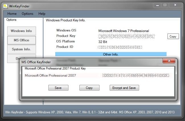 Viewing Winkey Finder 2 0 Beta 1 Microsoft Windows Microsoft Office Ms Office