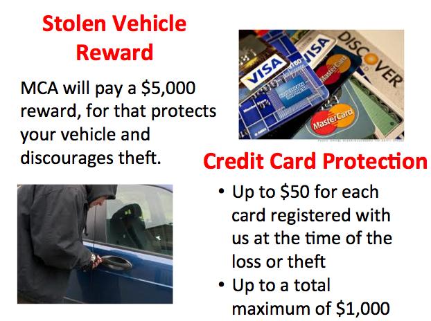 Mca Total Security Credit Card Protection Mca Visa Rewards