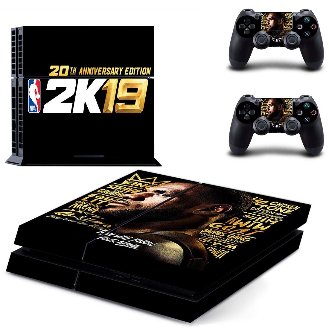 bdd40f6f76941 NBA 2K19 Playstation PS4 Pro Skin Stickers | Video Games Accessories ...