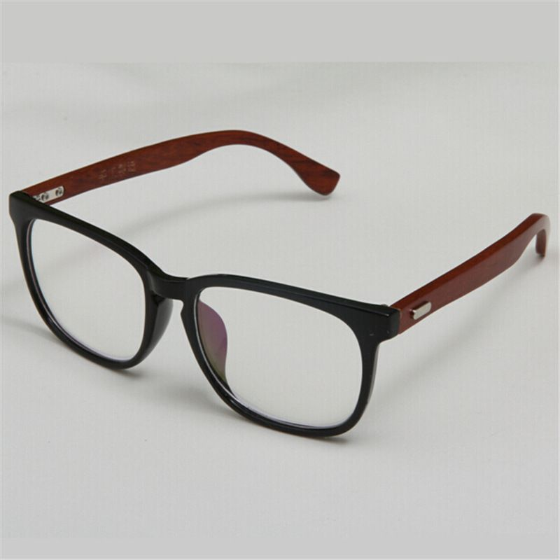 European Handmade Full Rim Wooden Glasses Frame Womens And Mens ...