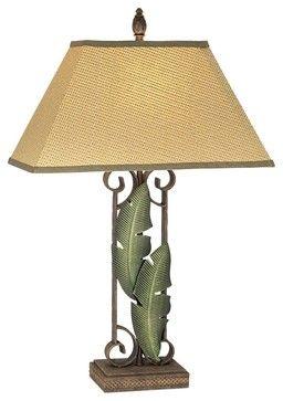 Tropical Lamp Banana Leaf Table Lamp Tropical Table