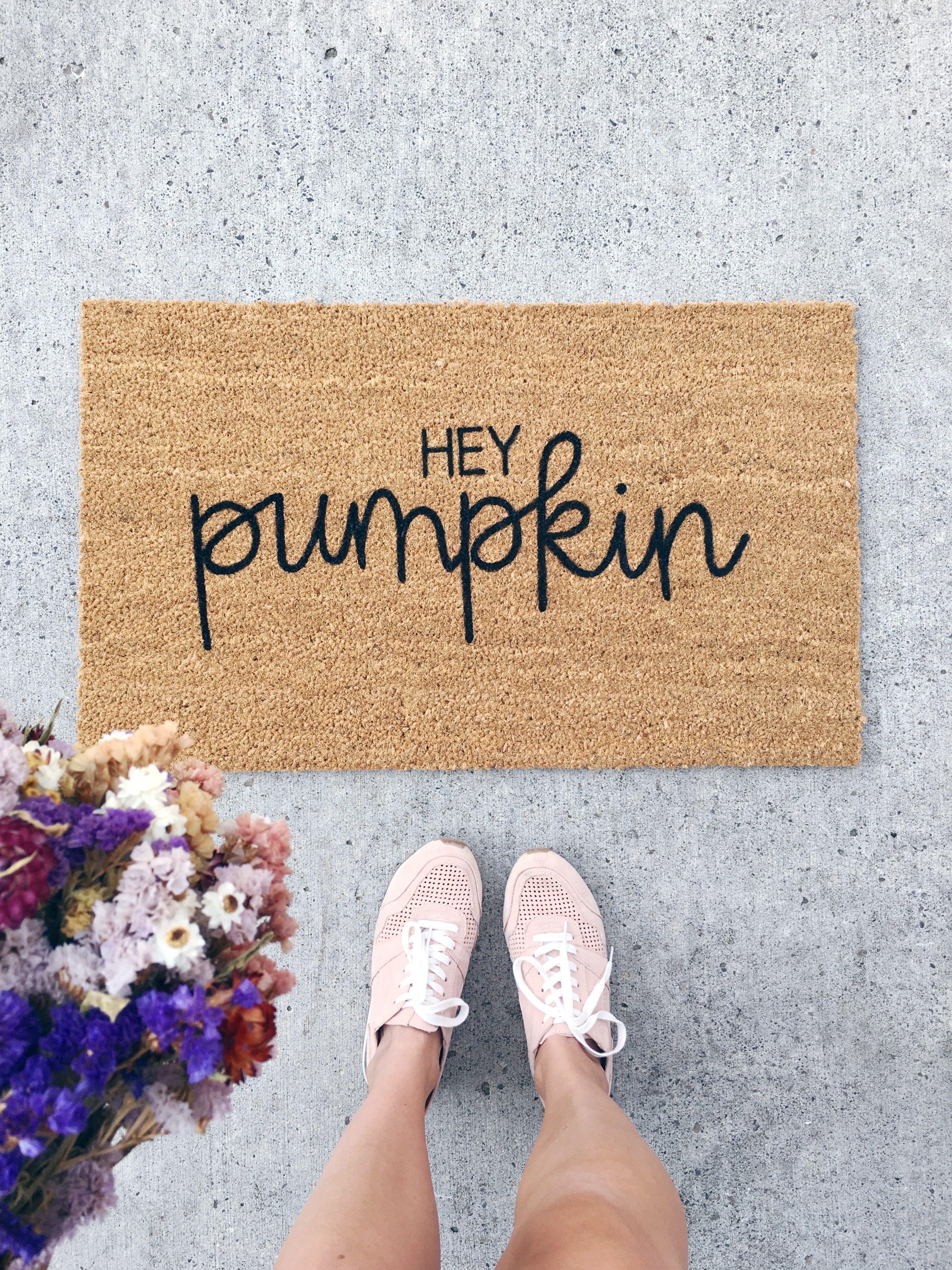 halloween welcome mat customized doormat personalized doormat Welcome to our coven doormat fall decor housewarming gift pumpkin