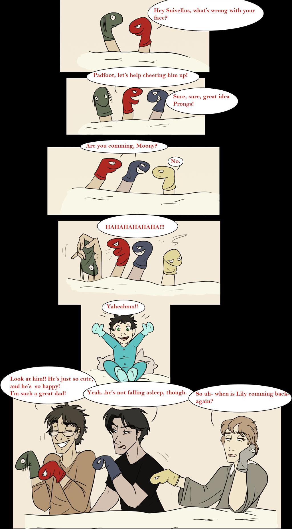 Babysitting By Milgoncalez On Deviantart The Marauders Harry Potter Comics Harry Potter Funny Harry Potter Jokes