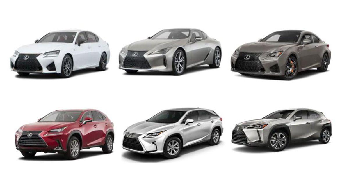 Pick Out Your Favorite Lexus Model From Our New Lexus Lineup Click To Start Lexus Models New Lexus Lexus Lineup